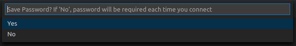 vscode SQL Server接続手順10