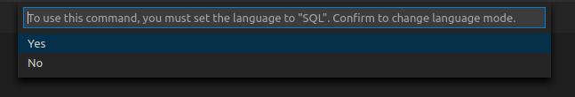 vscode SQL Server接続手順2